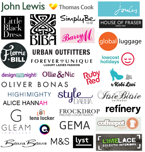 brands ive worked with